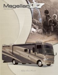 2007 Megellan Motorhome by Four Winds ... - Thor Motor Coach