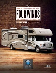 2013 Four Winds Motorhomes | Class C RV ... - Thor Motor Coach