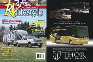 TRAVEL - New Motorhomes & RV Resources - Thor Motor Coach