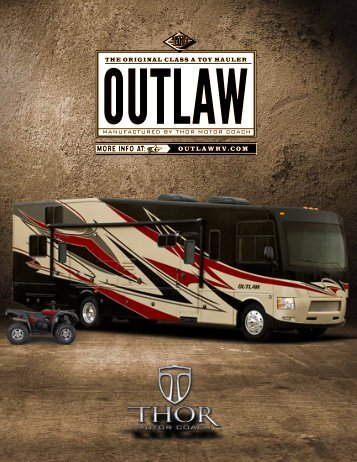 2013 Outlaw Toy Hauler Motorhomes | Class A ... - Thor Motor Coach