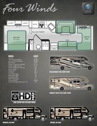 2014 Four Winds Super C Diesel Motorhomes by Thor Motor Coach