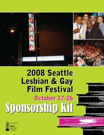 2008 Sponsorship Kit - Three Dollar Bill Cinema