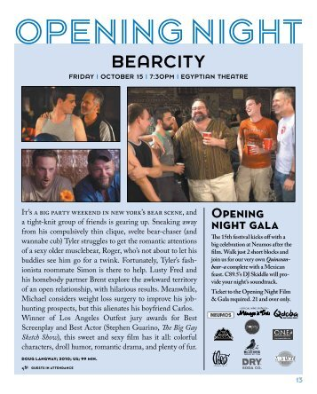 BEARCITY - Three Dollar Bill Cinema