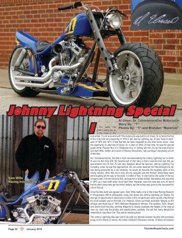 Johnny Lightning Special I - Thunder Roads Texas Motorcycle ...
