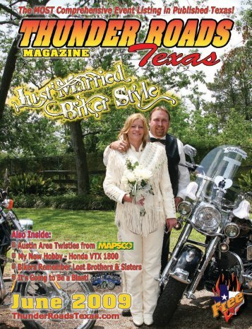 June 2009 - Thunder Roads Texas Motorcycle Magazine