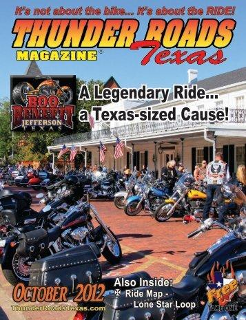 October 2012 - Thunder Roads Texas Motorcycle Magazine