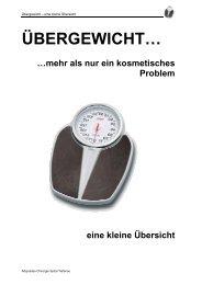 Was heisst Übergewicht - Spital Tiefenau - Spital Netz Bern