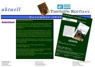Dezember 2011 - Tierhilfe Korfu