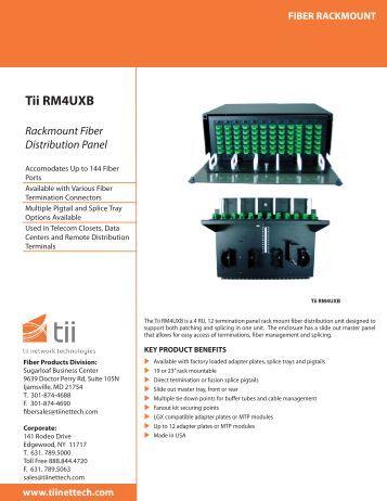 Tii RM4UXB - Tii Network Technologies