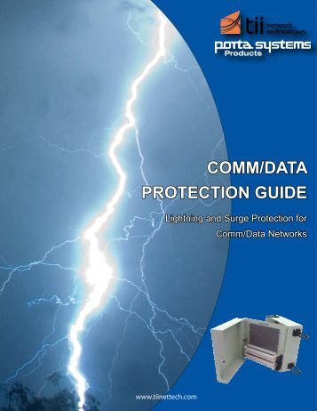COMM/DATA PROTECTION GUIDE - Tii Network Technologies