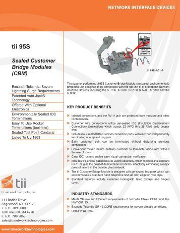 tii 95S - Tii Network Technologies