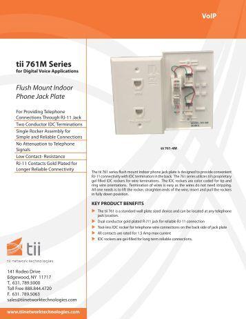 761 M Series - Tii Network Technologies