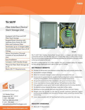 Tii 507F - Tii Network Technologies