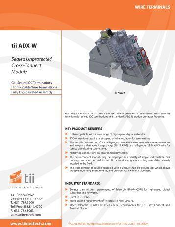 tii ADX-W - Tii Network Technologies