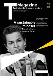 T Magazine 05 special edition for the International Economic Forum ...