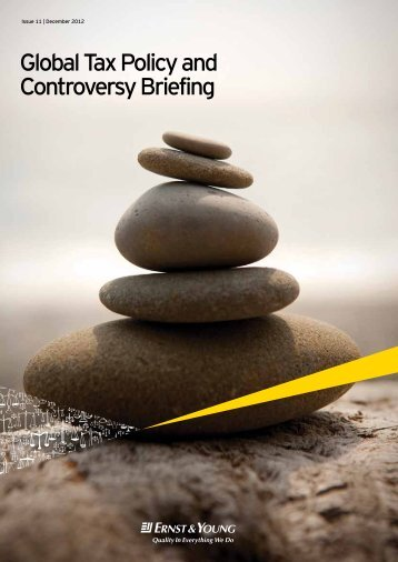 Global Tax Policy and Controversy Briefing - Ernst & Young T ...
