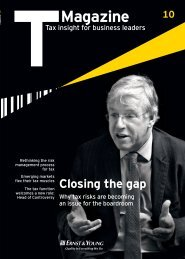 Ernst & Young T Magazine
