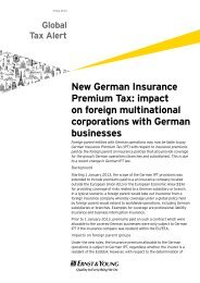 impact on foreign multinational corporations with German businesses