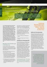 5-Achs-Bearbeitung: Geschwindigkeit und Qualität im Einklang