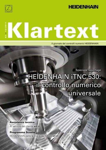 HEIDENHAIN iTNC 530: il controllo numerico universale