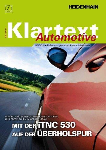 klartext Automotive + 09/2011 - Heidenhain