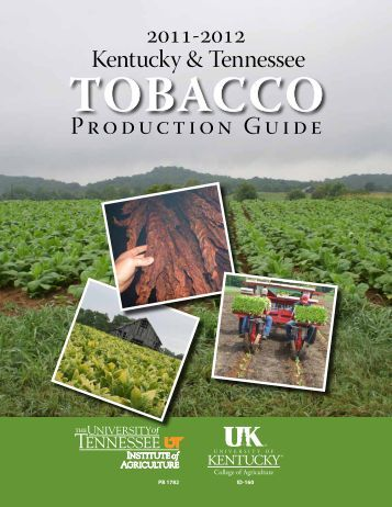Tobacco Production Guide - Tobacco Info Online