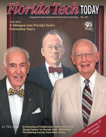 President's Perspective - Florida Tech Today - Florida Institute of ...