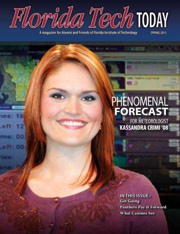 Phenomenal Forecast - Florida Tech Today - Florida Institute of ...