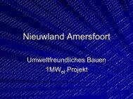 Integrierte Solarmodule auf Amersfoorter Dächern - Initiative Arbeit ...