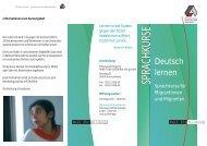 Deutsch lernen - Arbeit und Leben