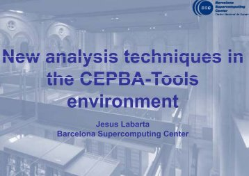 Tools nment - Tools for High Performance Computing 2011