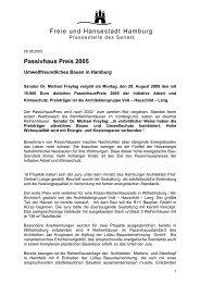 Passivhaus Preis 2005 - Initiative Arbeit und Klimaschutz