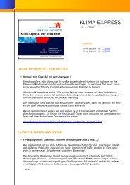 Nr. 2 / 2006 - Initiative Arbeit und Klimaschutz