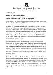 Solar-Meisterschaft 2003 entschieden - Initiative Arbeit und ...