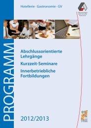 Abschlussorientierte Lehrgänge Kurzzeit-Seminare - Arbeit und Leben