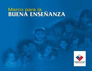 Marco para la Buena Enseñanza - Docentes Mas