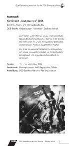 D G B -O rts- Stad t - Arbeit und Leben - Page 7