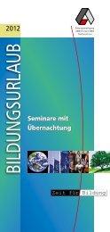 BILDUNGSURL AUB - Arbeit und Leben