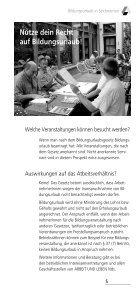 BILDUNGSURL AUB - Arbeit und Leben - Page 7