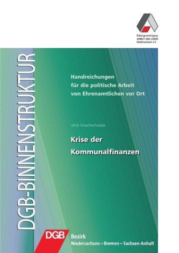 Krise der Kommunalfinanzen Handreichungen ... - Arbeit und Leben