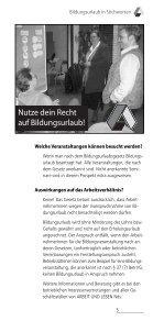 Seminare mit Übernachtung Seminare mit ... - Arbeit und Leben - Page 7