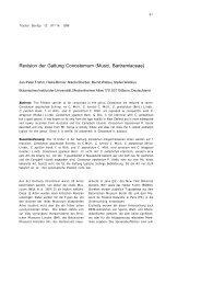 Revision der Gattung Conostomum (Musci, Bartramiaceae)