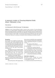 A taxonomic revision of Pseudosymblepharis Broth. (Musci ...