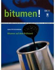 Bitumen auf dem Prüfstand - ARBIT