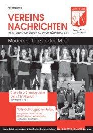 VEREINS NACHRICHTEN - TSV Altenfurt