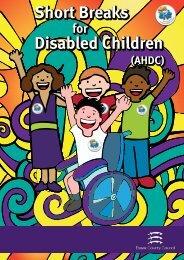 Short Breaks Disabled Children - Essex County Council