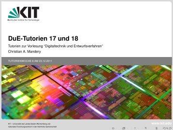 PDF (10 Folien) - Tutorium von Chris Mandery