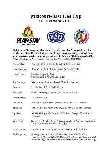 Midcourt-Turnier der TG Düsternbrook e - Turnierportal TV ...