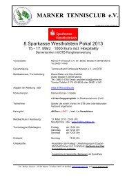 1352-9-8. Sparkasse Westholstein 2013-tournament info