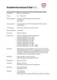 1460-7-Jugendkreismeisterschaften KTV Kiel Winter ... - TVPro-online